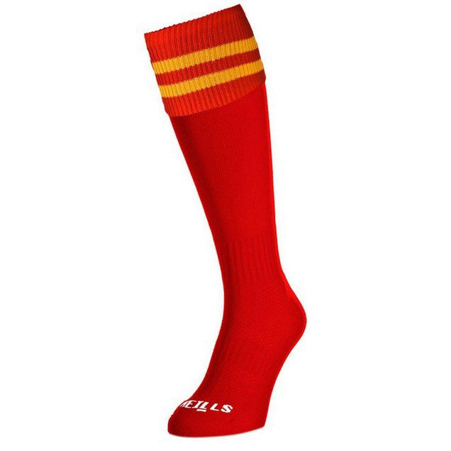 O'Neills Bars Socks Red/Amber