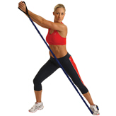 Fitness Mad Safety Resistance Tube Medium Blue