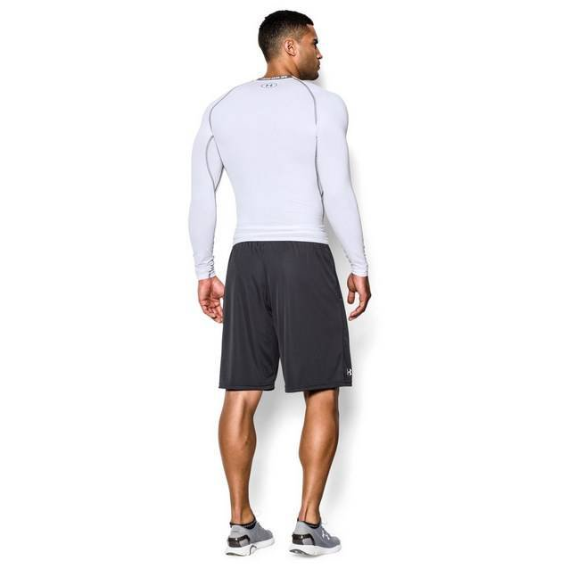 Underarmour HG Armour LS Comp Top Wht