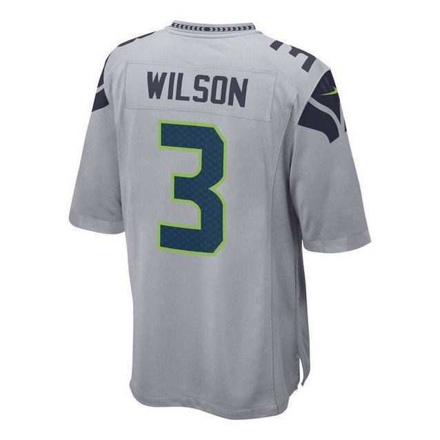 free shipping e20b3 1ed75 Nike Seahawks R.Wilson Aw15/16 Jers Grey | Elverys Site