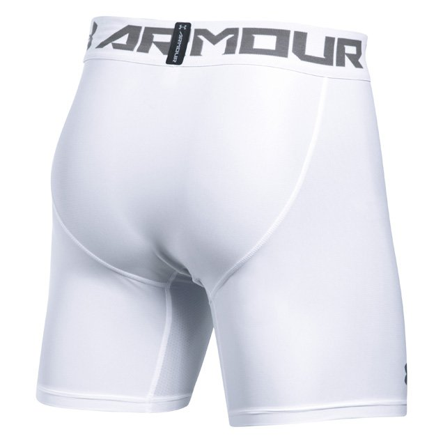 UA HeatGear® 2.0 Men's Compression Short, White
