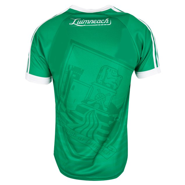 O'Neills Limerick 2017 Player Fit Home Jersey, Green