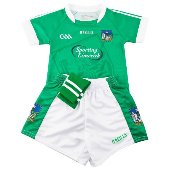 O'Neills Limerick 2017 Kids' Home Kit , Green