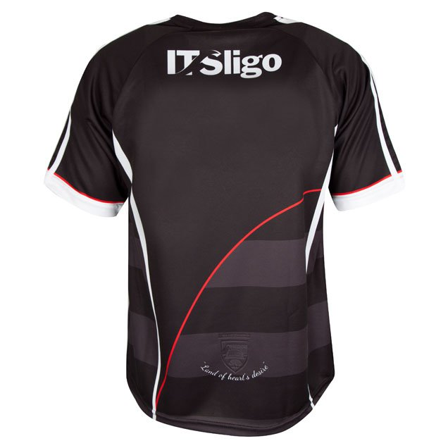 O'Neills Sligo 2017 Kids' Home Jersey, Black