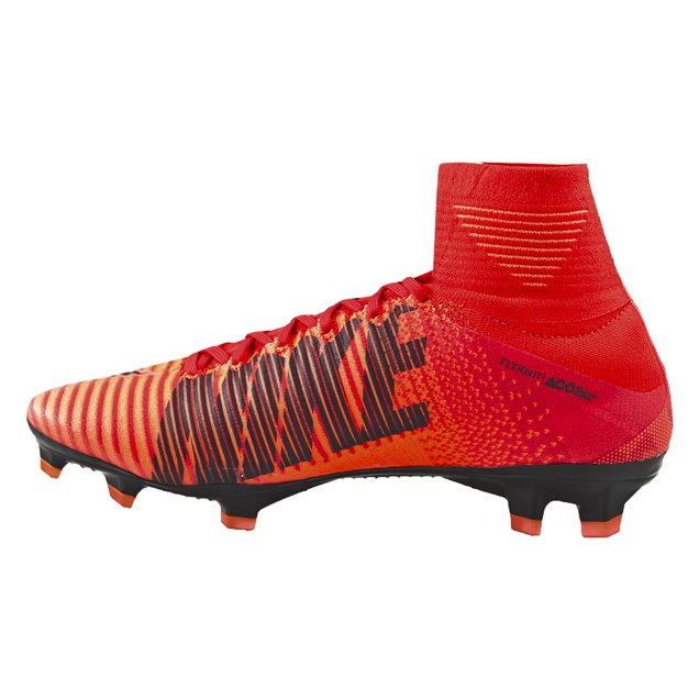 Nike Mercurial Superfly V Kids' FG Football Boots Red