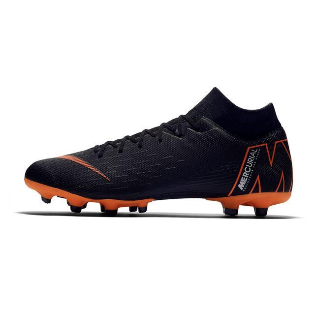 Nike Mercurial Superfly 6 Academy FG Football Boot, Black