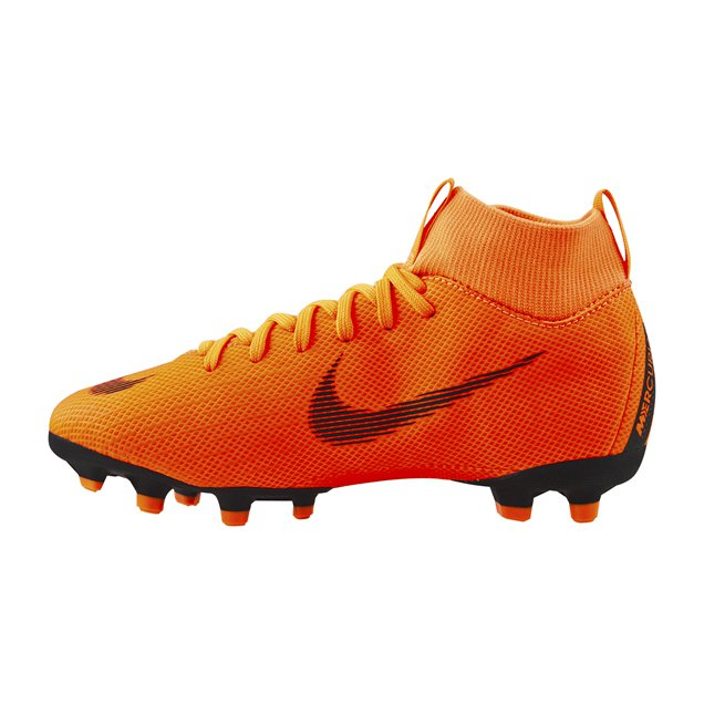 Nike Mercurial Superfly 6 Academy FG Kids' Football Boot, Orange