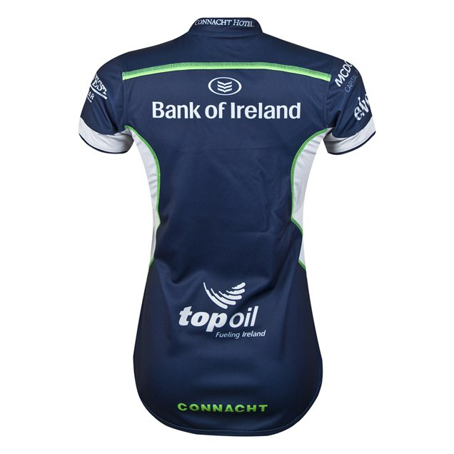 BLK Connacht 2018 Women's Alternative Jersey, Navy