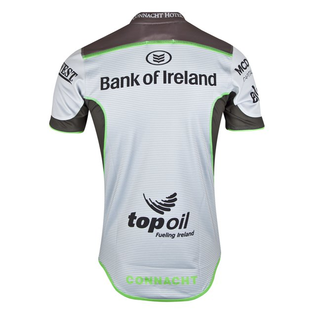 BLK Connacht 2018 Euro Test Jersey, Silver