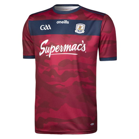 O'Neills Galway 2018 Kids Alternative GK Jersey, Maroon