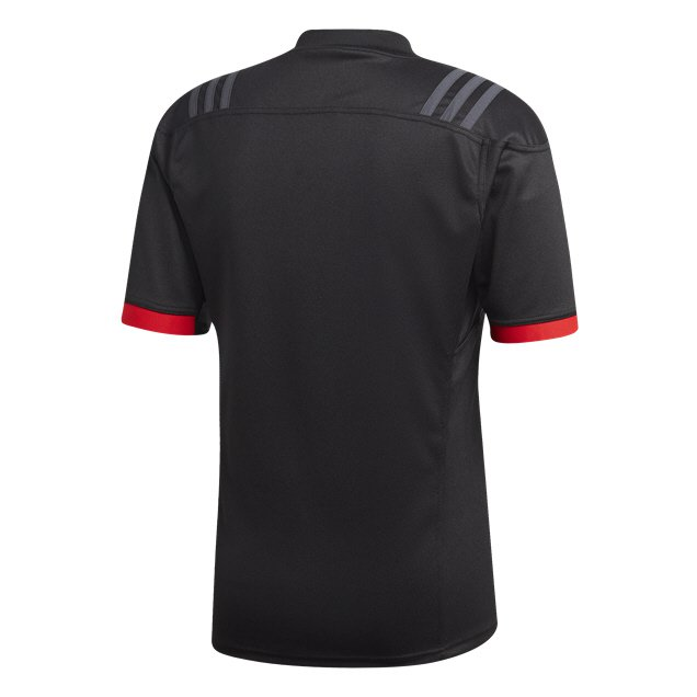 adidas Maori All Blacks 2018 Jersey, Black