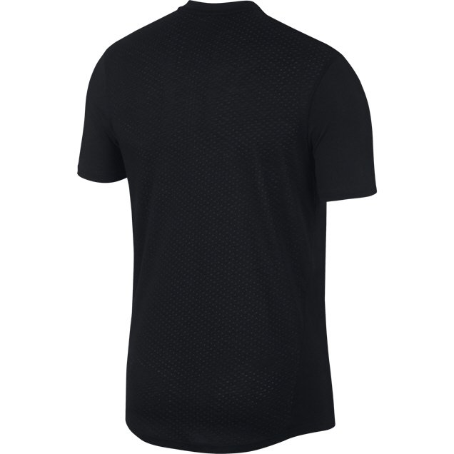 Nike Breathe Rise 365 Men's Running T-Shirt, Black