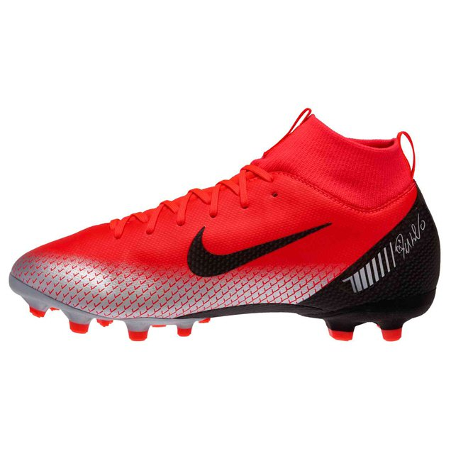 Nike Mercurial VaporX 12 Academy Kids' CR7 Astro Boot, Red