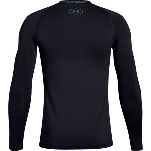 Under Armour® Heatgear Boys' Top, Black