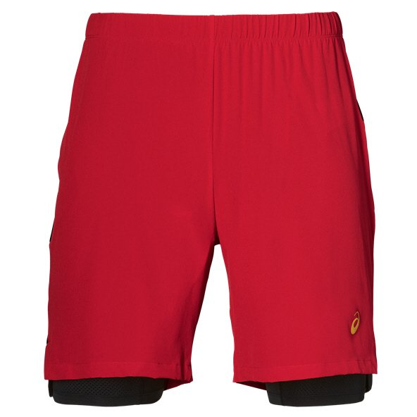c256ee30e7af Asics 2-in-1 7inch Mens Shorts Red Quick view