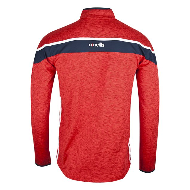 O'Neills Tyrone Slaney Kids' ½ Zip Brushed Top, Red