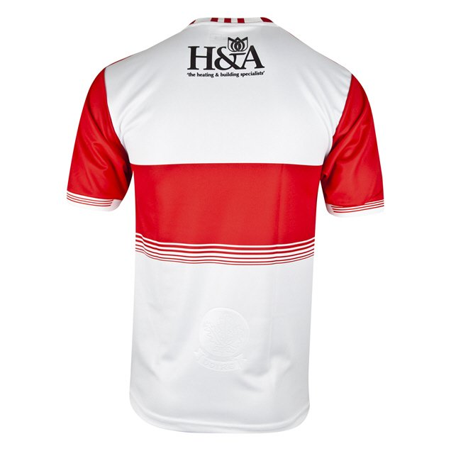 O'Neills Derry 2019 Kids' Home Jersey, White