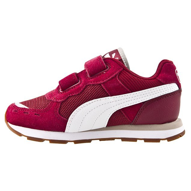Puma Vista V Infant Boys' Trainer, Burgundy