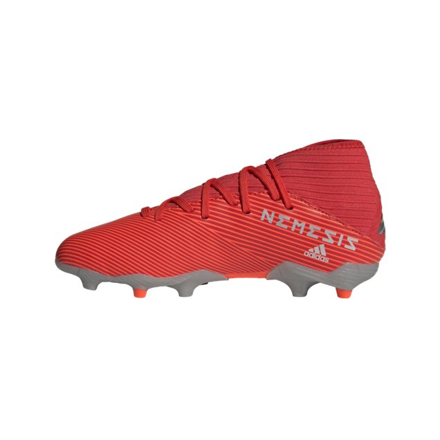 adidas NEMEZIZ 19.3 Kids' FG Football Boot, Red