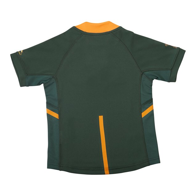 Asics Springboks RWC 2019 Kids' Home Jersey, Green