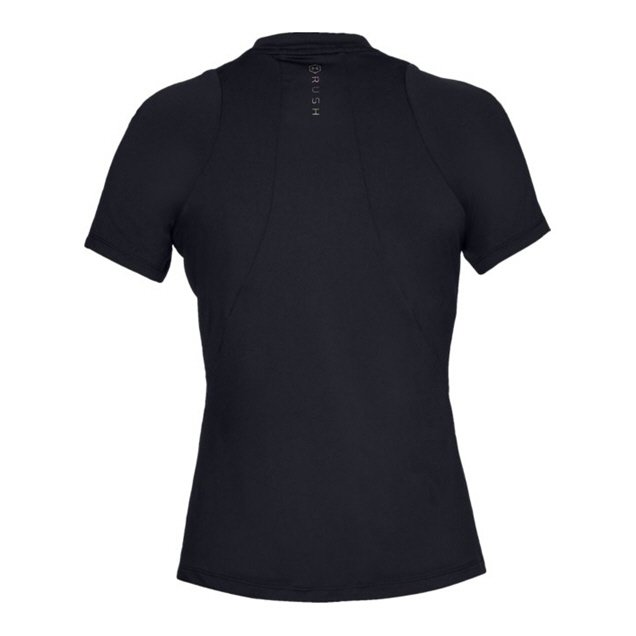 UA Rush Short Sleeve Wmns Tshirt Black
