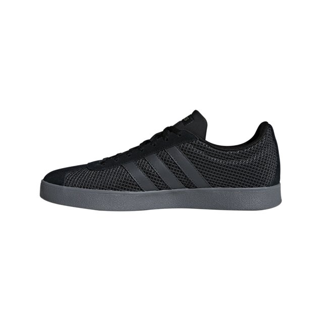 adidas VL Court 2.0 Men's Trainer, Black
