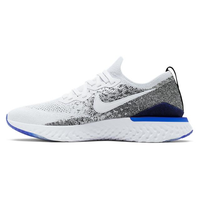 Nike Epic React Flyknit 2 Mens Run White   Elverys Site