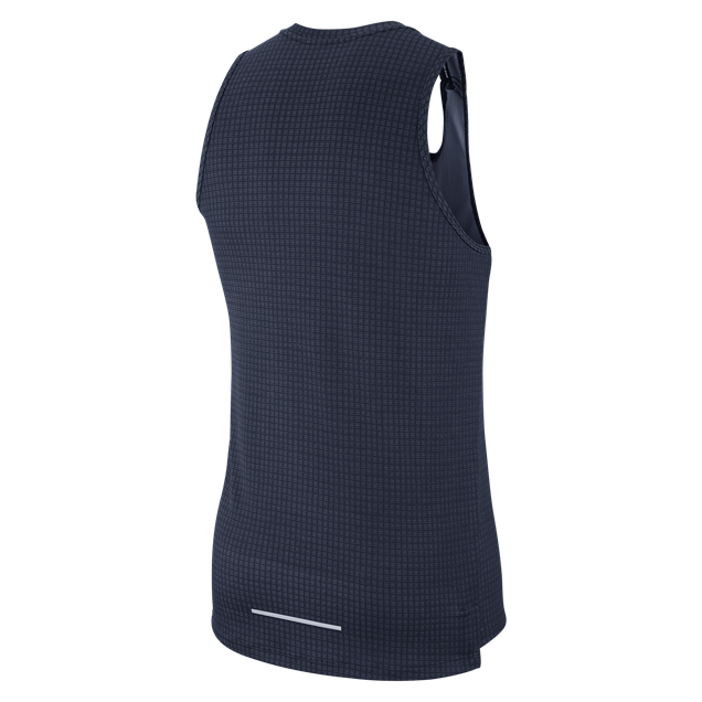 Nike Miler Tech Men's Running Tank, Purple