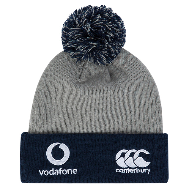 Canterbury IRFU 19 Bobble Hat Grey