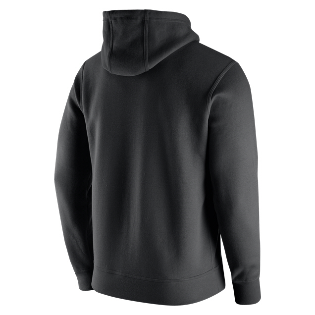 newest collection d4601 6dbf1 Nike NFL Raiders PO Logo Hoody Black/White | Elverys Site