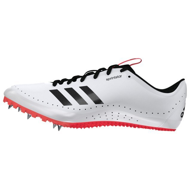 adidas Sprintstar Men's Running Spikes, White
