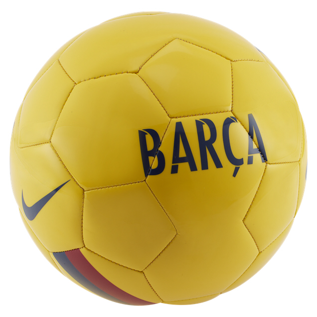 Nike FCB 19 Supporters Ball Yellow