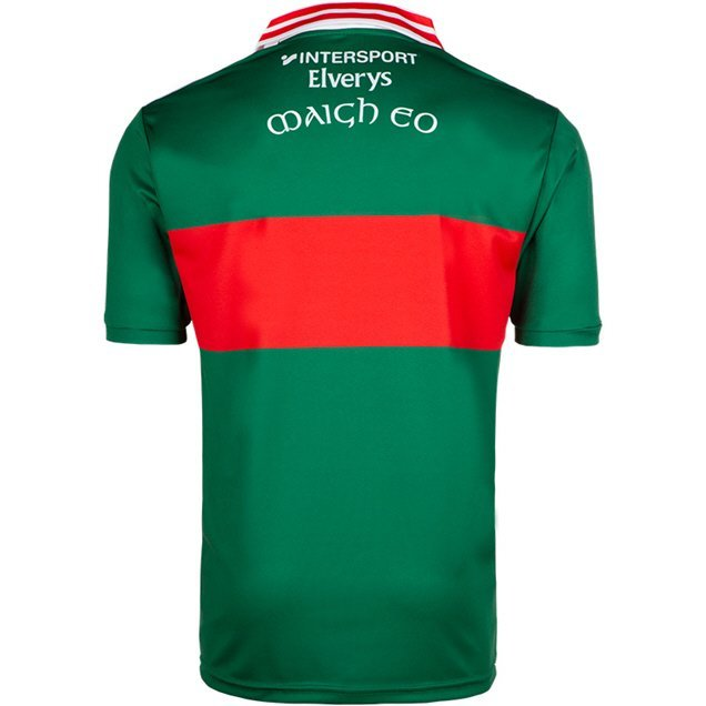 O'Neills Mayo Day Player Fit Home Jersey, Green