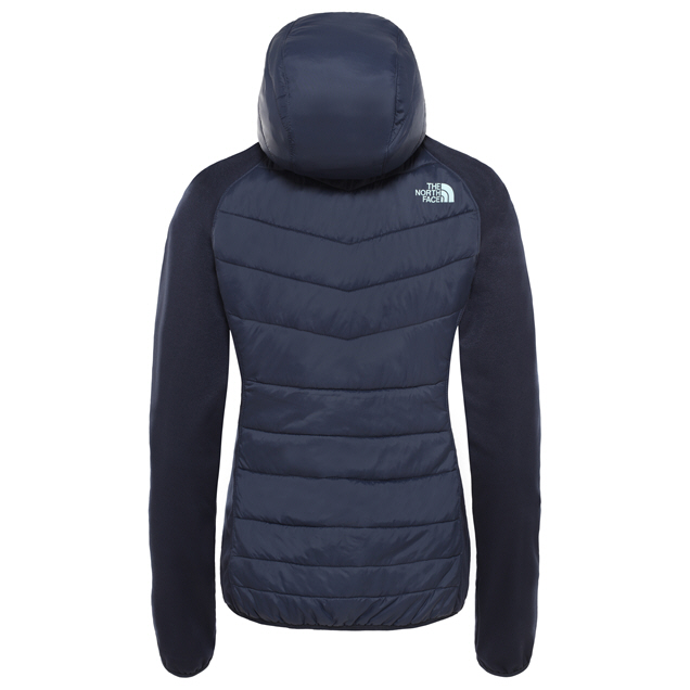 The NorthFace Arashi Hyrbid Women's Jacket Navy