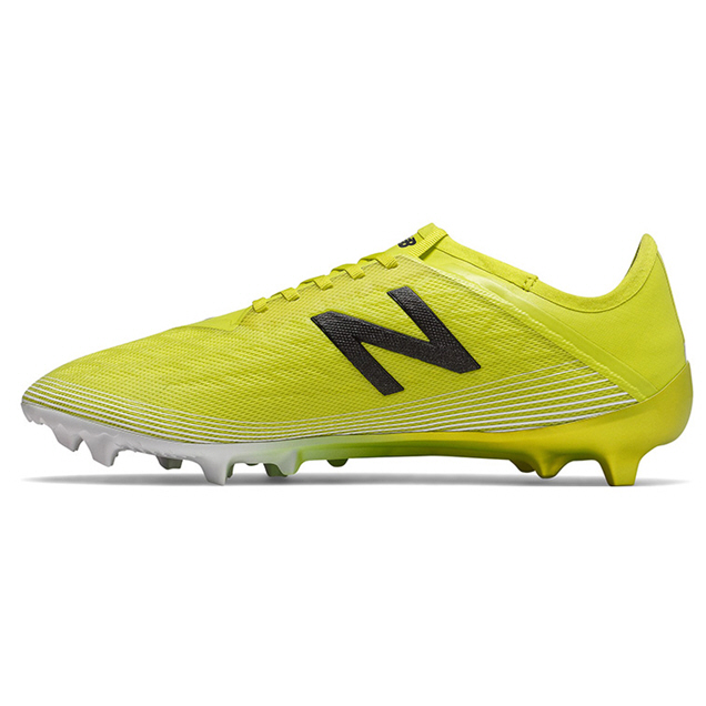 New Balance Furon V5 Pro FG Football Boot, Yellow