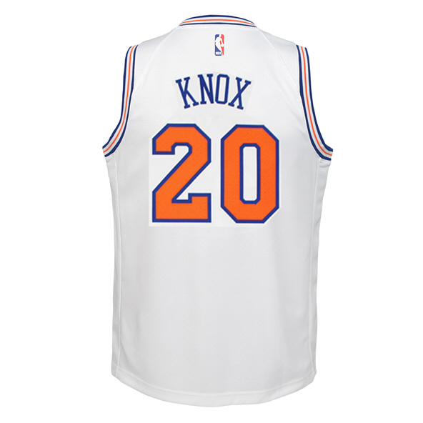 Nike Knicks Knox Kids Jersey White