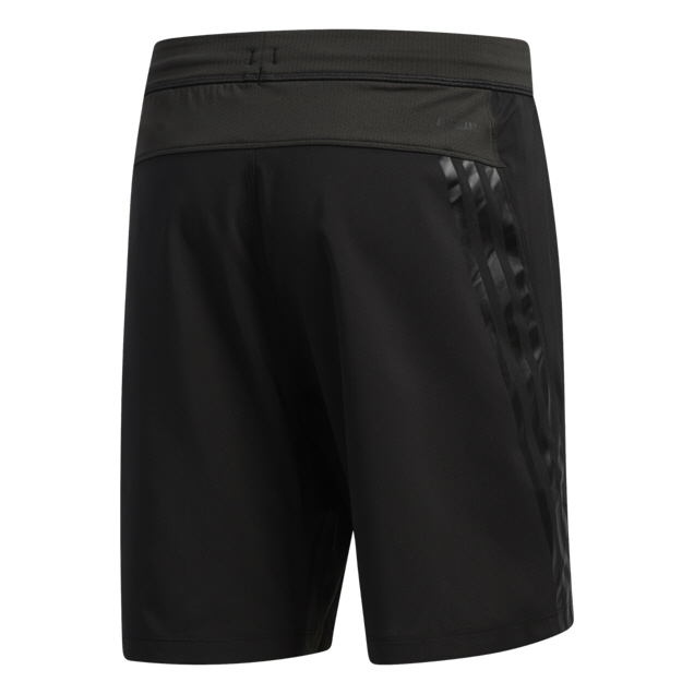 adidas Aero 3 Stripe Men's Short, Black