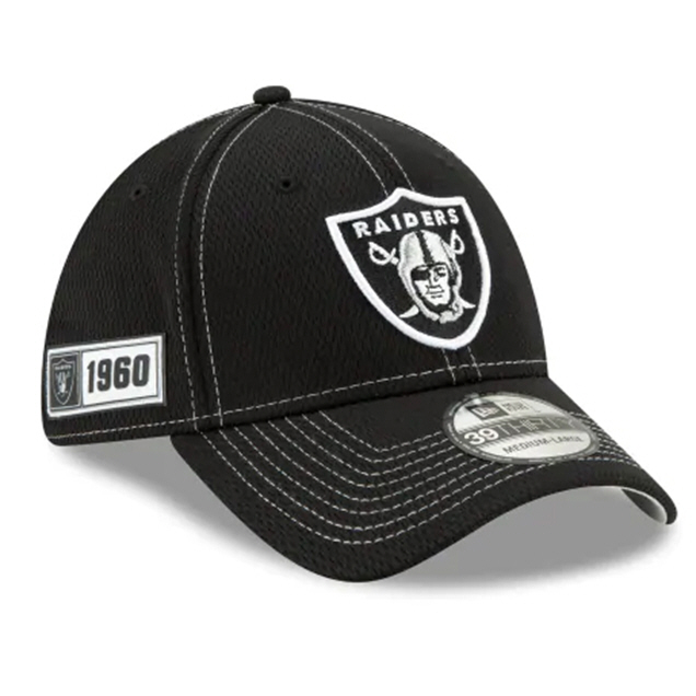 New Era 100Yr Raiders Cap Black