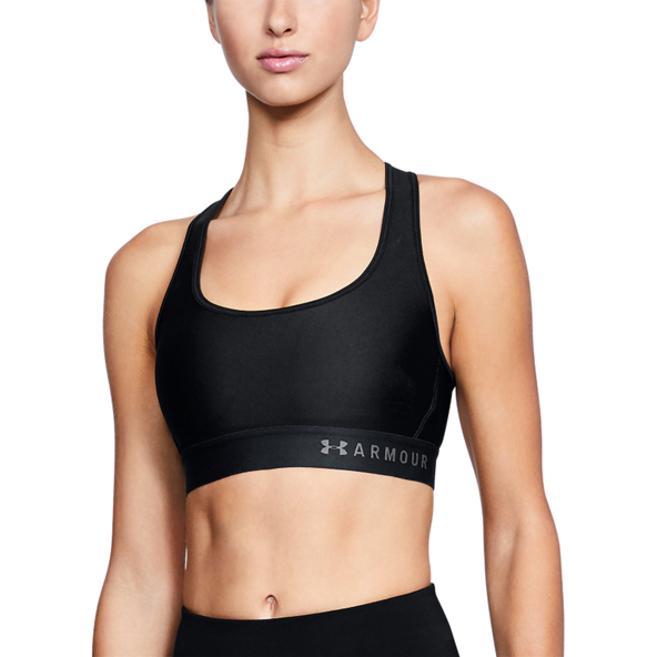 Under Armour® Armour Mid Crossback Bra, Black