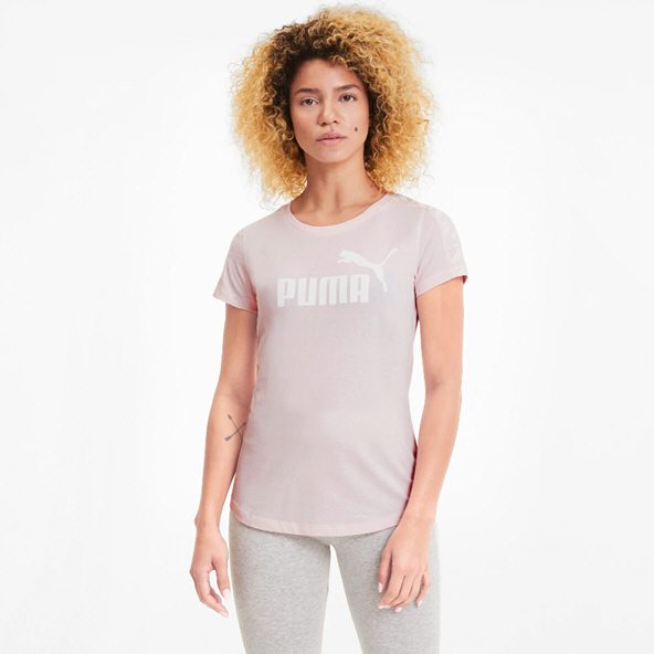 Puma Amplified Women's T-Shirt, Rosewater