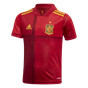 adidas Spain 2020/21 Home Kids' Kit, Red