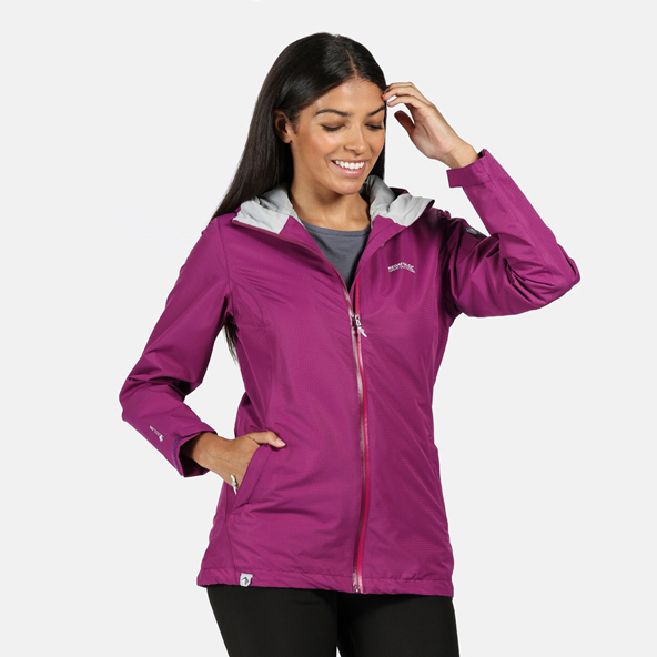 Regatta Hamara III Women's Waterproof Jacket  Purple