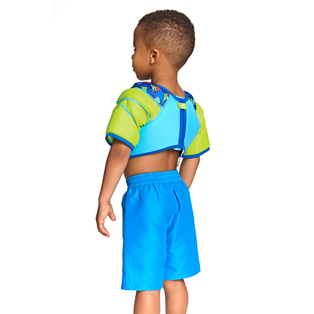 ZOGGS AQUA WATER WINGS VEST 4-5YR AQUA