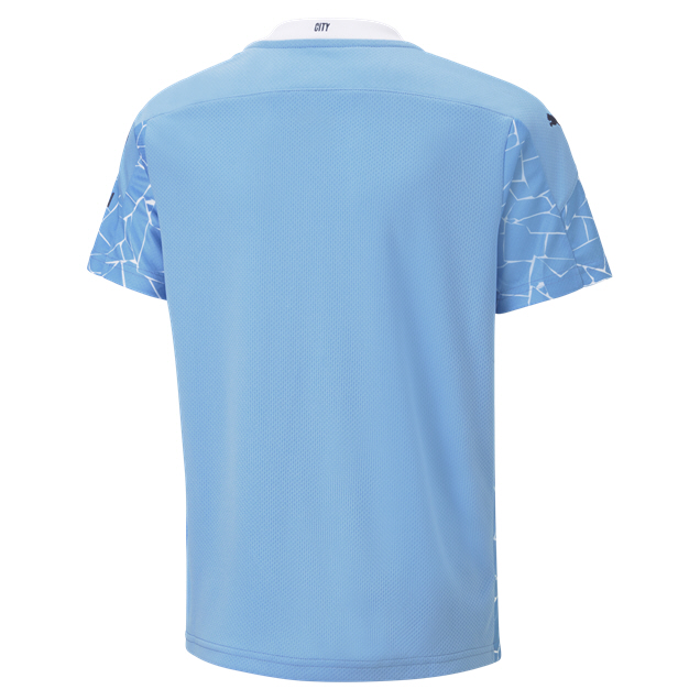 Puma Manchester City 2020/21 Home Kids' Jersey, Blue