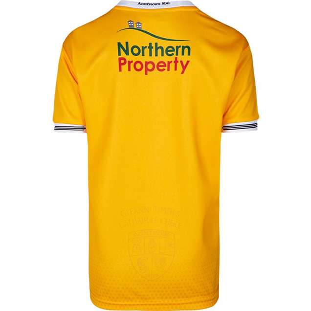 O'Neills Antrim 2020 Home Kids' Jersey, Yellow