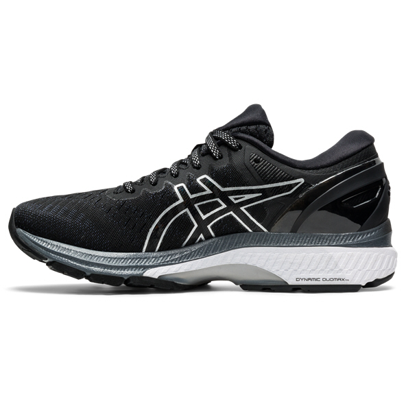 Asics Gel-Kayano 27 Women's Running Shoe Black/Silver