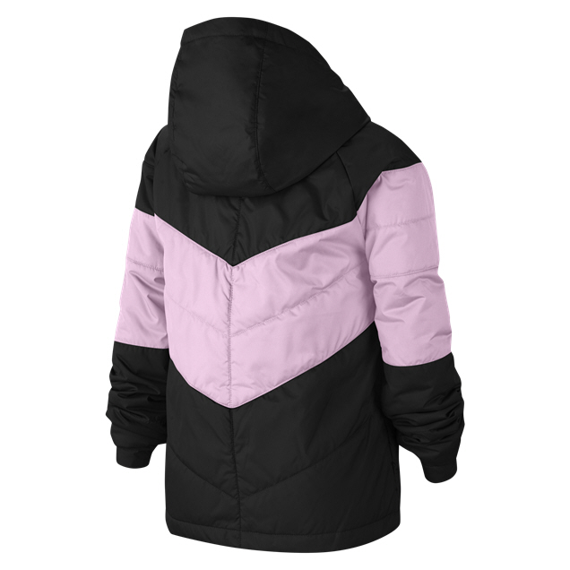 Nike Swoosh Filled Girls' Jacket, Black
