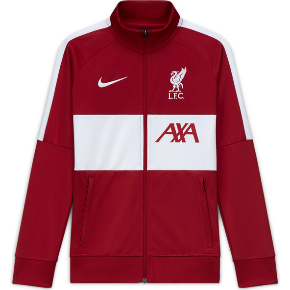 Nike Liverpool FC 2020/21 Anthem Kids' Jacket, Red