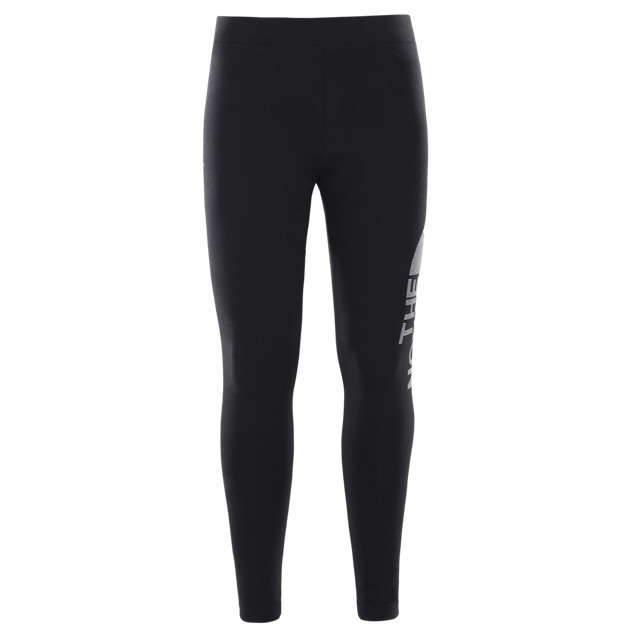 The North Face® Cotton Girls' Leggings Black