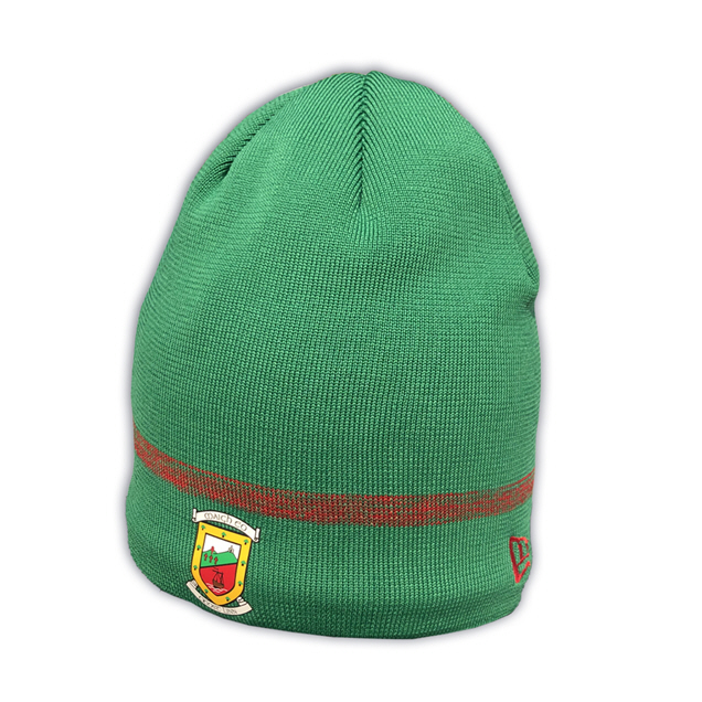 New Era Mayo Fleece Lined Skull Beanie Green
